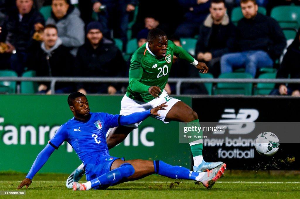 Republic of Ireland v Italy - UEFA European U21 Championship Qualifier Group 1 : News Photo