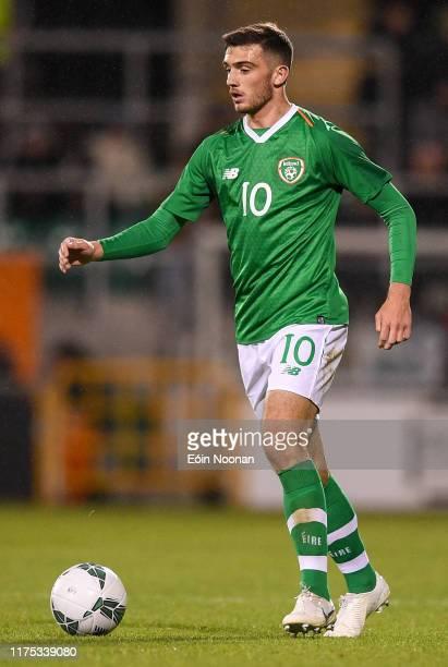 Dublin Ireland 10 October 2019 Troy Parrott of Republic of Ireland during the UEFA European U21 Championship Qualifier Group 1 match between Republic...
