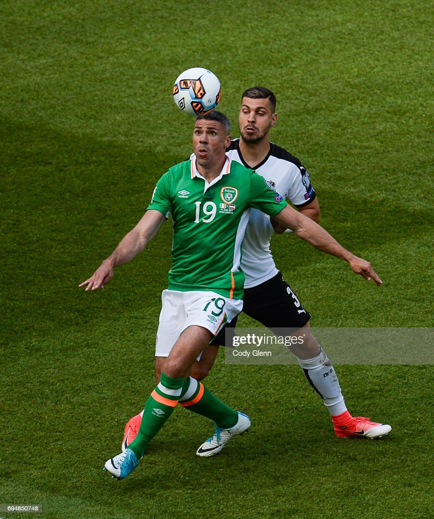 Fifa 2018 World Cup Qualifier10 Pictures Embed Embedlicence Dublin Ireland 11 June 2017 Jonathan Walters Of Republic In Action