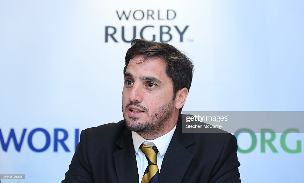 Announcement of new World Rugby Chairman and Vice-Chairman : News Photo
