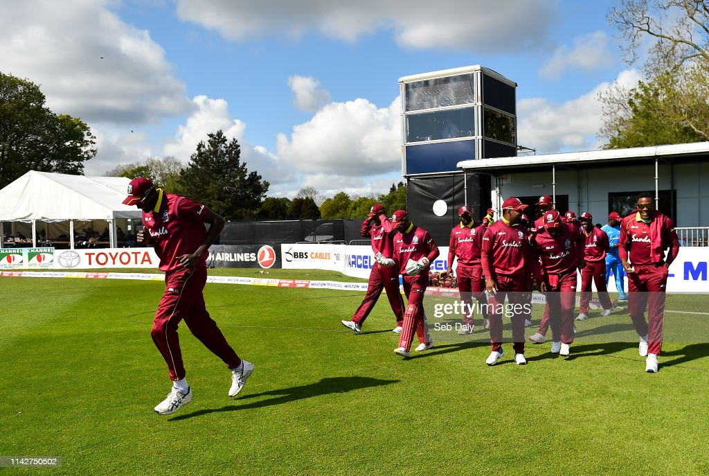 Ireland v West Indies - One Day International (Men's Tri-Series) : News Photo