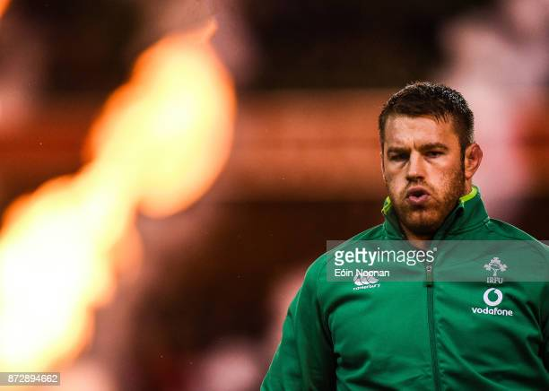 Dublin Ireland 11 November 2017 Sean O'Brien of Ireland ahead of the Guinness Series International match between Ireland and South Africa at the...