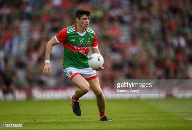 Dublin , Ireland - 11 September 2021; Conor Loftus of Mayo during the GAA Football All-Ireland Senior Championship Final match between Mayo and...