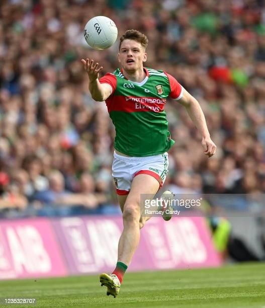 Dublin , Ireland - 11 September 2021; Matthew Ruane of Mayo during the GAA Football All-Ireland Senior Championship Final match between Mayo and...