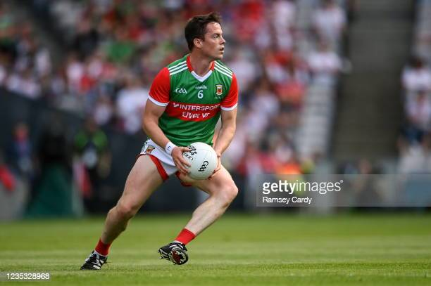 Dublin , Ireland - 11 September 2021; Stephen Coen of Mayo during the GAA Football All-Ireland Senior Championship Final match between Mayo and...