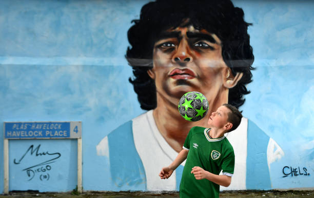 IRL: Maradona Mural at Havelock Square