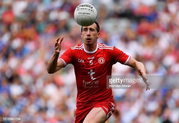 Dublin Ireland 12 August 2018 Colm Cavanagh of Tyrone during the GAA Football AllIreland Senior Championship semifinal match between Monaghan and...