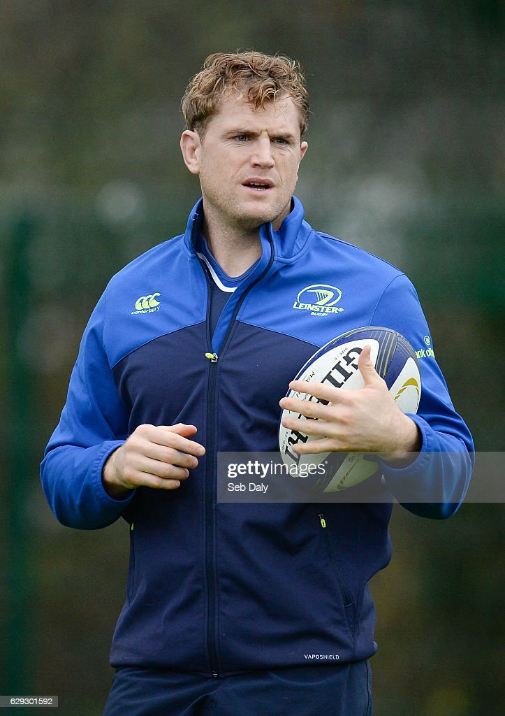 Leinster Rugby Squad Training and Press Conference : Nachrichtenfoto