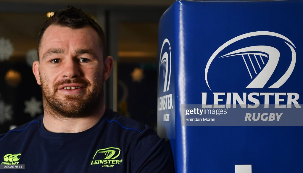 Leinster Rugby Squad Training and Press Conference