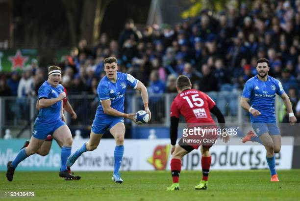 Dublin Ireland 12 January 2020 Garry Ringrose of Leinster during the Heineken Champions Cup Pool 1 Round 5 match between Leinster and Lyon at the RDS...