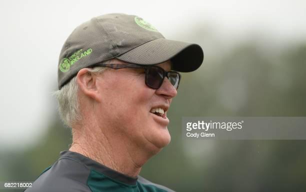 Dublin Ireland 12 May 2017 Ireland cricket coach John Bracewell prior to the International between Ireland and Bangladesh at Malahide in Co Dublin