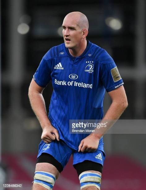 Dublin , Ireland - 12 September 2020; Devin Toner of Leinster during the Guinness PRO14 Final match between Leinster and Ulster at the Aviva Stadium...