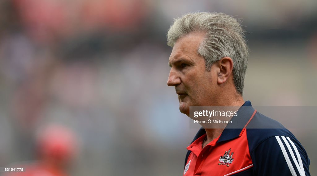 Dublin , Ireland - 13 August 2017; Cork manager Kieran Kingston before the GAA Hurling All-Ireland Senior Championship Semi-Final match between Cork and Waterford at Croke Park in Dublin.