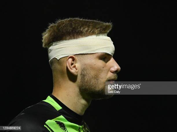 Dublin , Ireland - 13 August 2021; St Patrick's Athletic goalkeeper Vitezslav Jaros after the SSE Airtricity League Premier Division match between St...