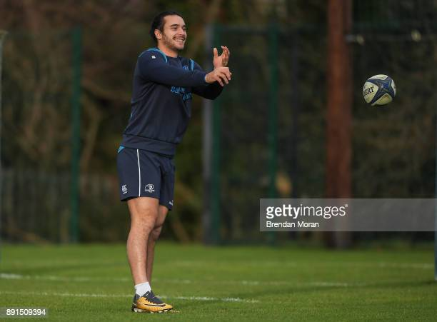 Dublin Ireland 13 December 2017 James Lowe during Leinster rugby squad training at UCD in Dublin