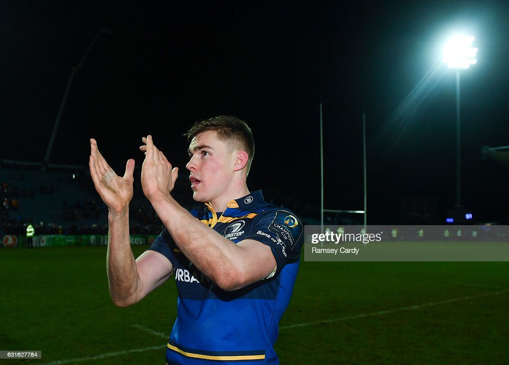 Leinster v Montpellier - European Rugby Champions Cup Pool 4 Round 5 : News Photo
