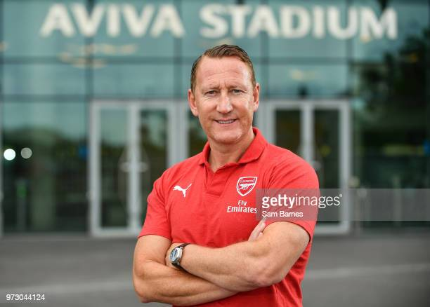 Dublin , Ireland - 13 June 2018; Former Arsenal player Ray Parlour in attendance during an International Club Game Announcement which will see...