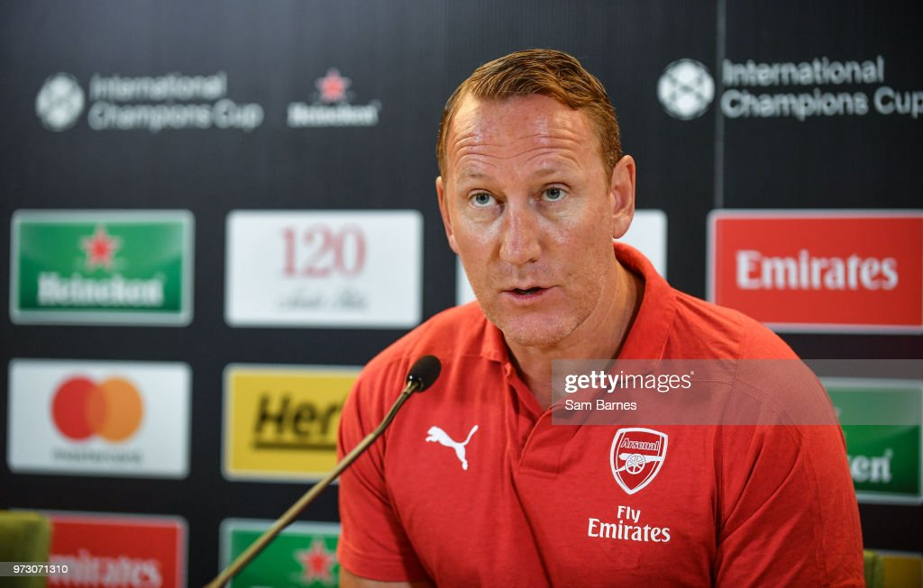 Dublin , Ireland - 13 June 2018; Former Ray Parlour in attendance during an International Club Game Announcement which will see Arsenal play Chelsea on the 1st of August 2018 at Aviva Stadium, in Dublin.