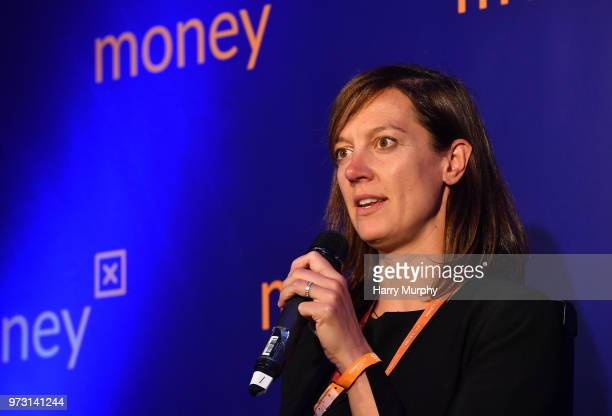 Dublin Ireland 13 June 2018 Marieke Flament Global CMO European MD Circle at Money X during day two of MoneyConf 2018 at the RDS Arena in Dublin