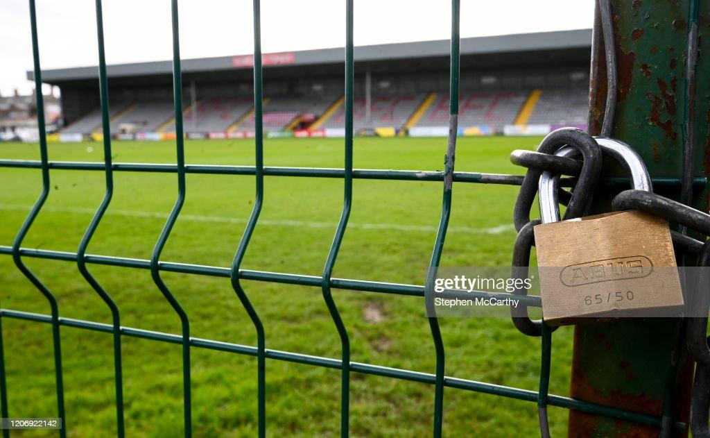 Irish Sport Suspended Due To Coronavirus : Fotografia de notícias