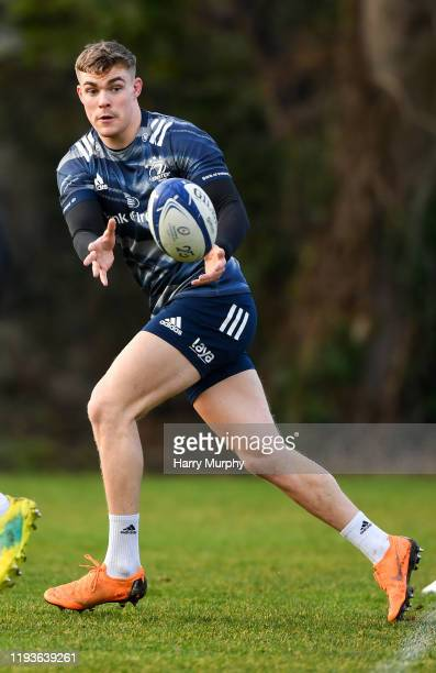 Dublin Ireland 14 January 2020 Garry Ringrose during a Leinster Rugby squad training session at Leinster Rugby Headquarters in UCD Dublin