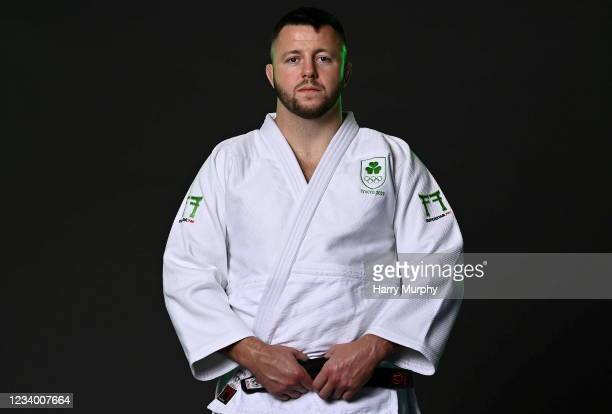 Dublin , Ireland - 14 July 2021; Ben Fletcher during a Tokyo 2020 Team Ireland Announcement for Judo at the Sport Ireland Institute at the Sports...