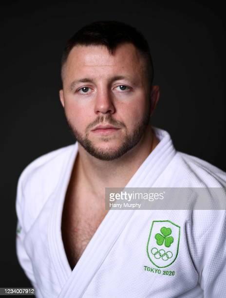 Dublin , Ireland - 14 July 2021; Ben Fletcher during a Tokyo Team Ireland Announcement for Judo at the Sport Ireland Institute at the Sports Ireland...