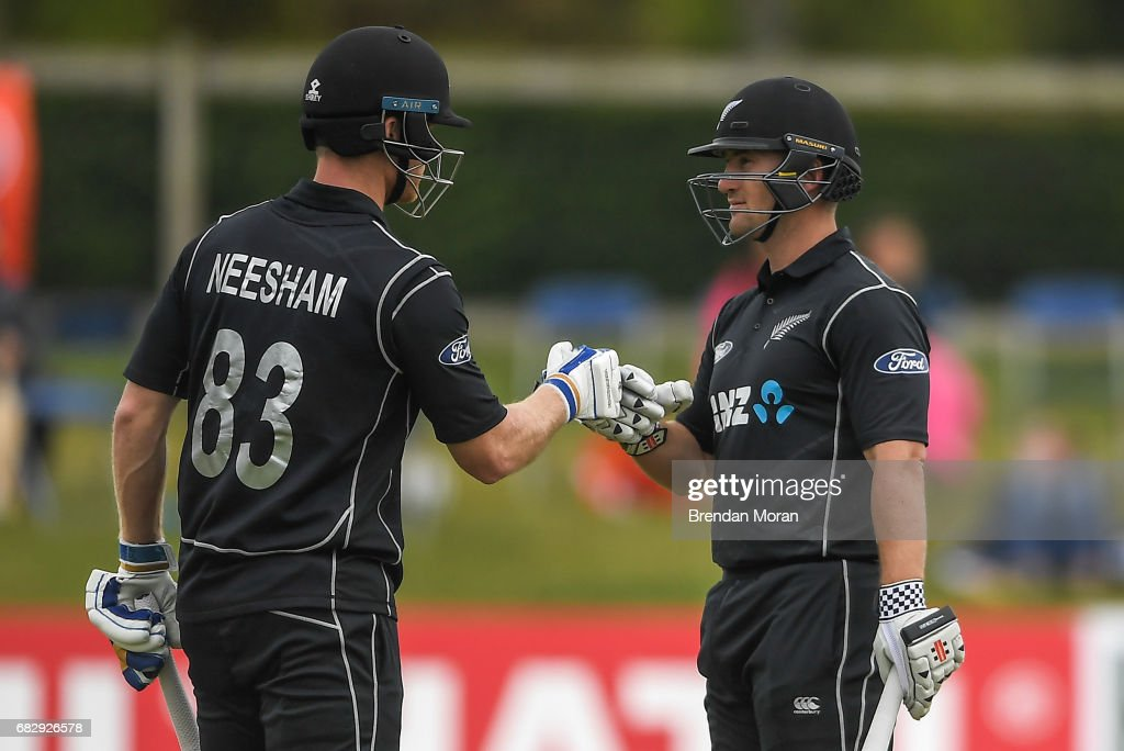 Ireland v New Zealand - International Cricket