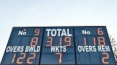 dublin ireland general view scoreboard at