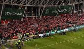 dublin ireland danish fans attendance during
