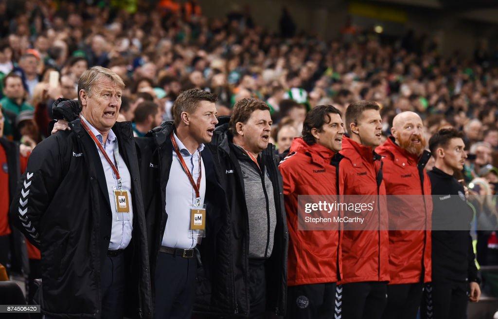 Republic of Ireland v Denmark - FIFA 2018 World Cup Qualifier Play-off 2nd leg : News Photo