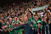 dublin ireland republic ireland supporters during