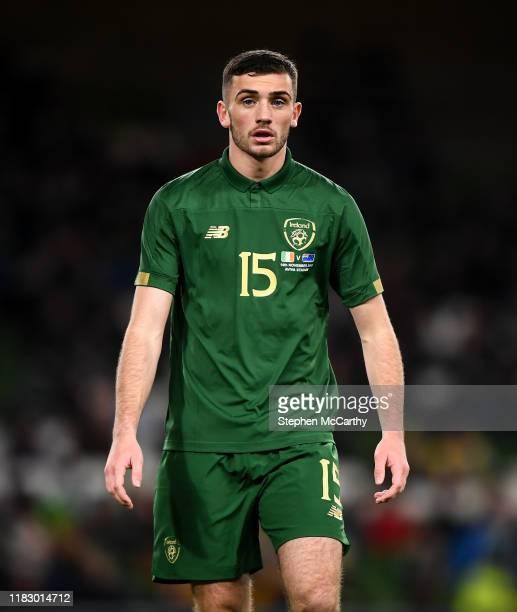Dublin Ireland 14 November 2019 Troy Parrott of Republic of Ireland during the International Friendly match between Republic of Ireland and New...