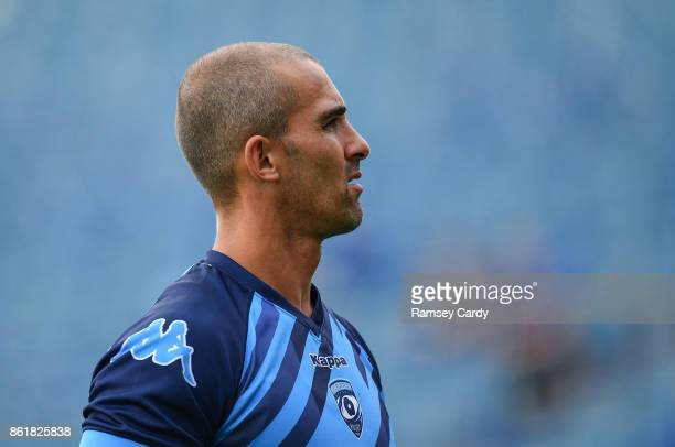 Dublin Ireland 14 October 2017 Ruan Pienaar of Montpellier ahead of the European Rugby Champions Cup Pool 3 Round 1 match between Leinster and...