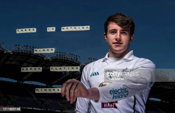 Dublin Ireland 15 April 2014 Electric Ireland linked up with current AllIreland minor title holders Shane Ryan from Waterford and Cian Hanley from...