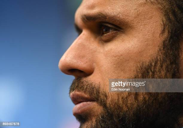 Dublin Ireland 15 December 2017 Isa Nacewa during a Leinster rugby press conference in UCD Dublin