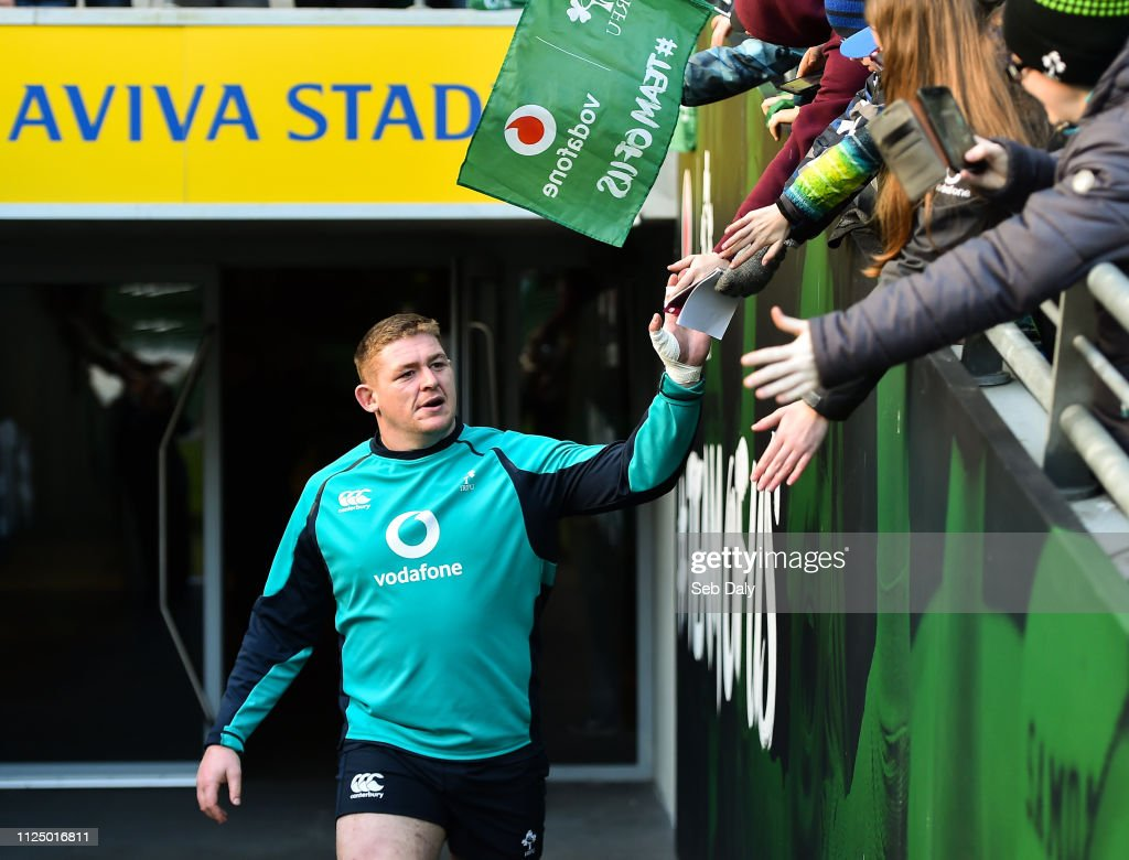 IRL: Ireland Rugby Squad Open Training Session