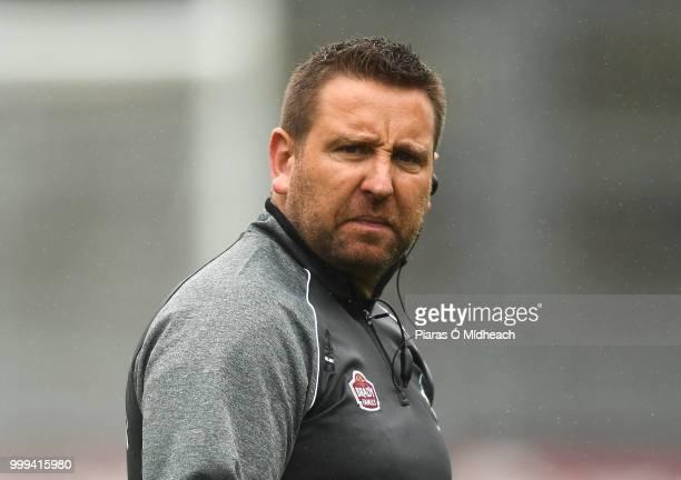 Dublin Ireland 15 July 2018 Kildare manager Cian O'Neill before the GAA Football AllIreland Senior Championship QuarterFinal Group 1 Phase 1 match...