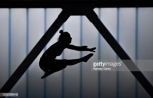 Dublin , Ireland - 15 June 2020; Team Ireland gymnast Kate Molloy during their return to the National Gymnastics Training Centre in the Sport Ireland...