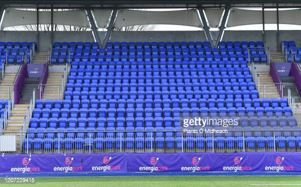 Dublin , Ireland - 15 March 2020; A general view of Energia Park in Donnybrook, Dublin. Following directives from the Irish Government and the...