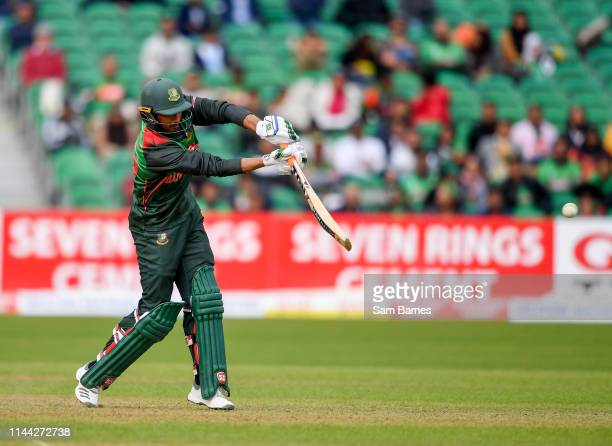 Dublin Ireland 15 May 2019 Mahmudullah of Bangladesh during the OneDay International TriSeries Final match between West Indies and Bangladesh at...