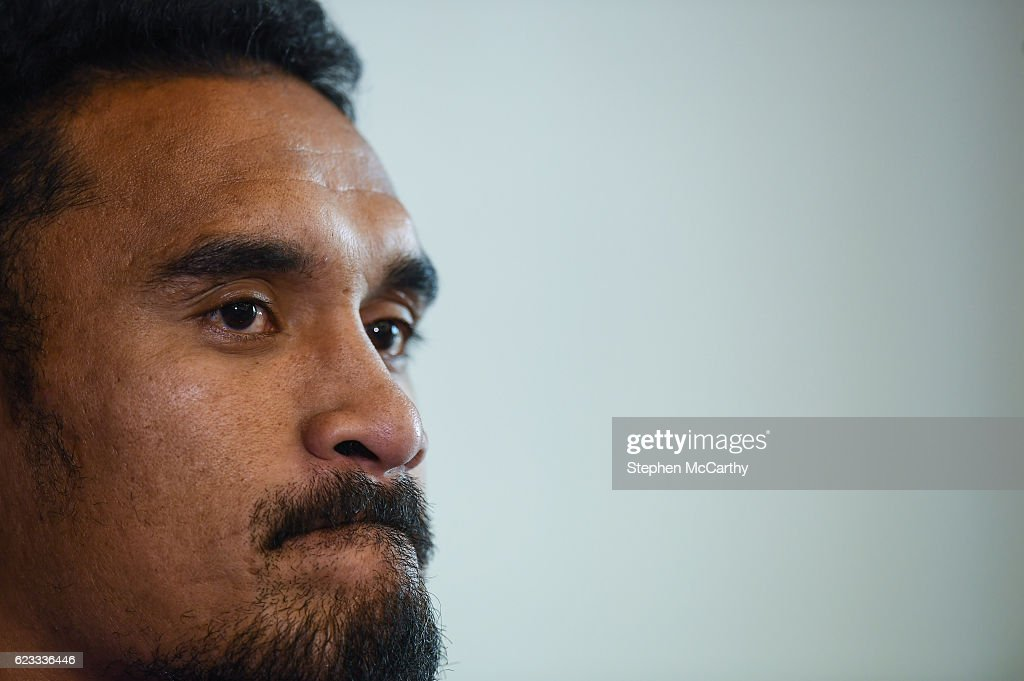 New Zealand Rugby Squad Training and Press Conference : News Photo
