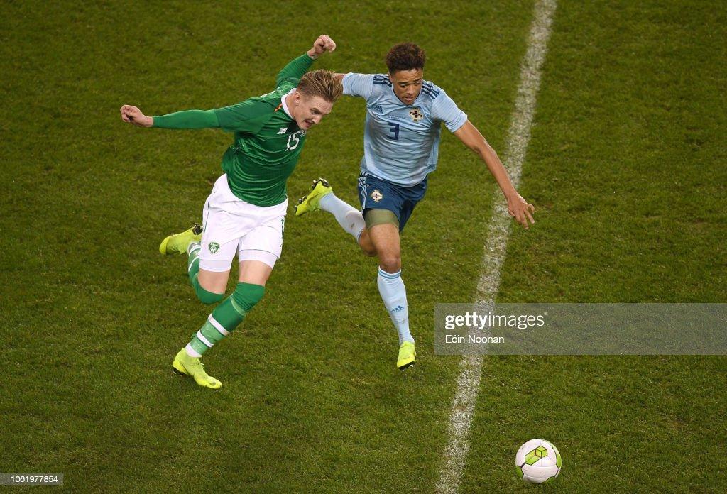 Republic of Ireland v Northern Ireland - International Friendly : News Photo
