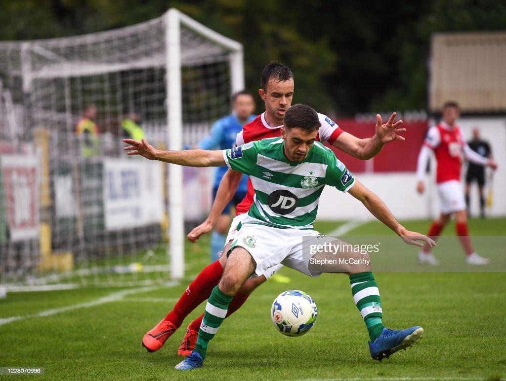 St Patrick's Athletic v Shamrock Rovers - SSE Airtricity League Premier Division : Foto di attualità