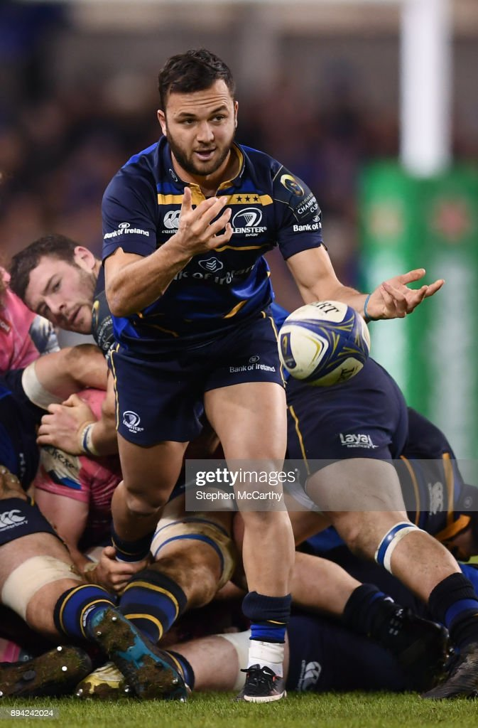 Dublin , Ireland - 16 December 2017; Jamison Gibson-Park of Leinster during the European Rugby Champions Cup Pool 3 Round 4 match between Leinster and Exeter Chiefs at the Aviva Stadium in Dublin.