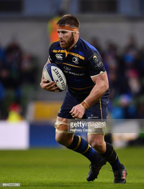 Dublin Ireland 16 December 2017 Sean O'Brien of Leinster during the European Rugby Champions Cup Pool 3 Round 4 match between Leinster and Exeter...