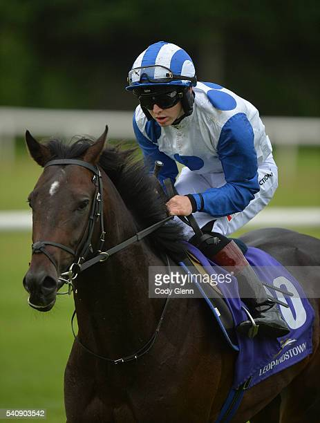 Dublin Ireland 16 June 2016 Noivado with Colin Keane up after the Irish Stallions Farms European Breeders Fund Maiden during day two of Bulmers Live...
