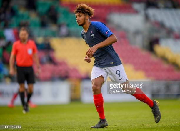 Dublin Ireland 16 May 2019 Georginio Rutter of France during the 2019 UEFA European Under17 Championships semifinal match between France and Italy at...