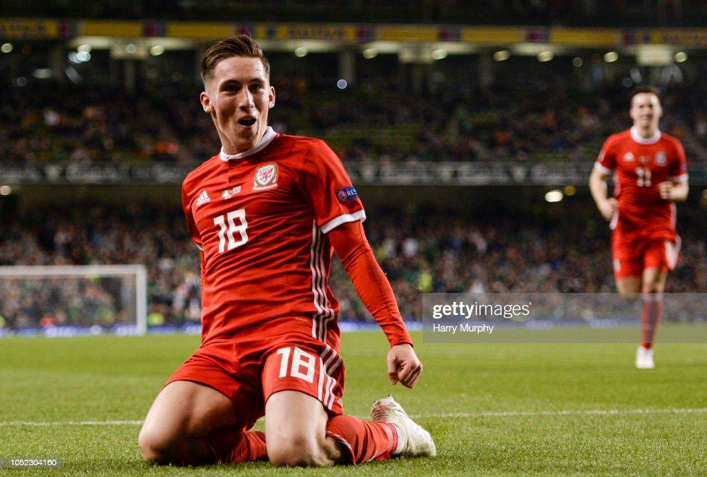 Republic of Ireland v Wales - UEFA Nations League B : News Photo