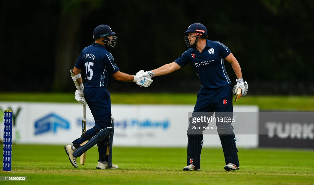Scotland v Netherlands - T20 International Tri Series : News Photo